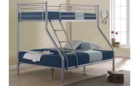 Pavo Bunk Bed Nexus Silver Metal Sleeper Bunk Bed Bedroom Ideas