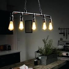 industrial pipe light fixture industrial light fixtures loft style 5 head water pipe l pendant