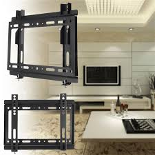 Lcd Tv Wall Mount Stand Universal 14 42 Inch Lcd Led Plasma Tilt Tv Wall Mount Stand Flat