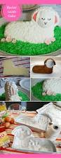Black Faced Sheep Home Decor How To Decorate An Easter Lamb Cake Merriment Design