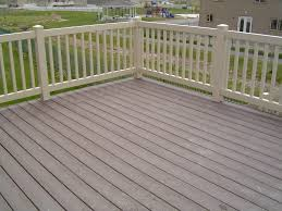 exterior design exciting trex decking with white deck railing