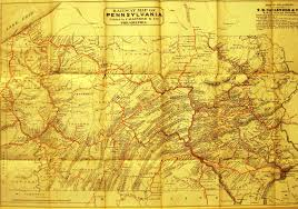 Map Of Pennsylvania Cities by Pennsylvania In Early Pocket Maps