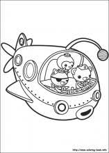 The Octonauts Coloring Pages On Coloring Book Info Octonauts Coloring Pages