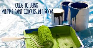 guide to using multiple paint colours in 1 room love my house