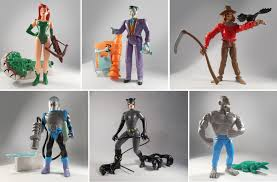 the history of batman the animated series figures completeset
