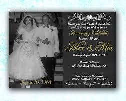 50th Wedding Anniversary Invitation Cards Testimonials U2014 Party Print Express