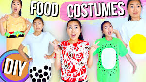 T Shirt Halloween Costumes Ideas Diy Unique Last Minute Food Halloween Costumes Jenerationdiy