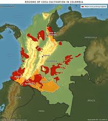 Colombian Map Colombia And Farc To Negotiate Demobilization
