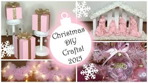 christmas diy crafts 2015 part 2 pink christmas decorations