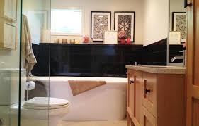 sink white cabinets blue walls board batten bathroom lighting