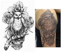 owl design by crisluspotattoos on deviantart