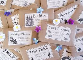 25 best seed wedding favors ideas on inexpensive