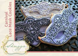 masquerade cookies how to make a carnival lace mask cookie