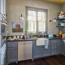 Kitchen Pantry Furniture Blue Gray Floating Kitchen Pantry Shelves Design Ideas