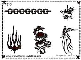 airbrush stencils u0026 airbrush tattoo stencils that are durable