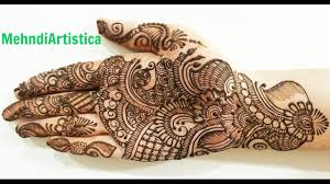 Traditional Design by Simple Beautiful Traditional Arabic Henna Mehndi Designs Mehandi