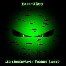 crappie lights for night fishing green led underwater night fishing light 6000 lumens green blob