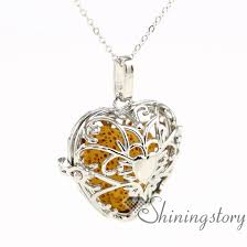 valentines necklace s day diffuser pendant wholesale aromatherapy