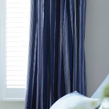 Blue And White Striped Drapes Navy Striped Curtains Design Ideas And Decor