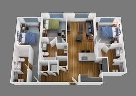 3 bedroom 3 bath floor plans floor plans of park place at waco in waco tx