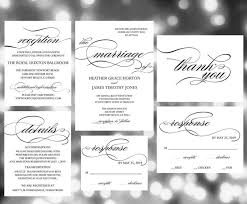 Printable Wedding Invitations Printable Wedding Invitation Template Wedding Invites Wedding