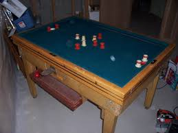 coin operated bumper pool table what do i have