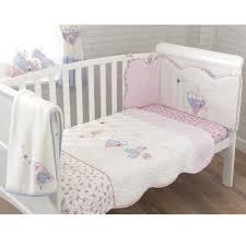 Cot Bedding Set 36 Babies Bed Sets Rabbit 4 Cot Cotbed Bedding Set