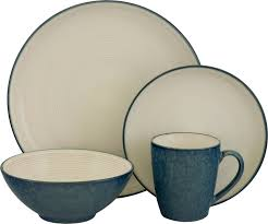sango 16 dinnerware set blue