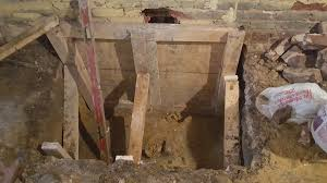 Basement Dig Out Cost by Digging Basements Adding New Height To Low Ceilings By
