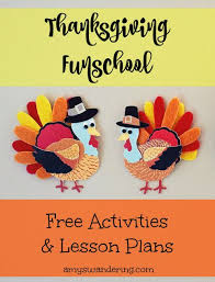 238 best homeschool thanksgiving images on