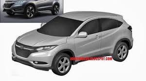 Honda Urban Honda Urban Suv Production Version Revealed Via Leaked Patent Photos
