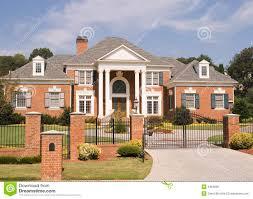 Brick House by Brick House Iron Fence Royalty Free Stock Image Image 3464806