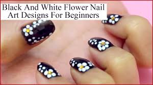 flower nail art design for fashionable nails youtube