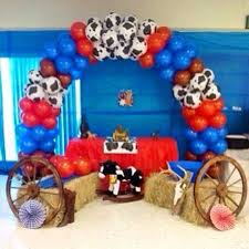 balloon shop milford ct balloon western theme balloon arch for baby shower design bookmark 25172