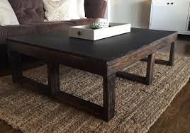 ana white multi functional coffee table play table diy projects