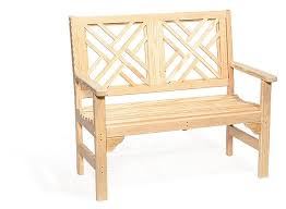 amish wood chippendale garden bench from dutchcrafters amish furniture