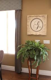 my house of goodwill u2013 framed monogram