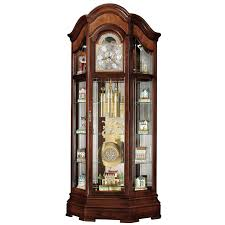 interior decor howard miller majestic grandfather clocks with