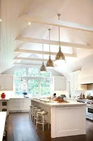 vaulted kitchen ceiling ideas vaulted ceiling chandelier dining room lighting for vaulted