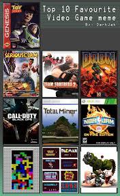 Top 10 Video Game Memes - top 10 video game meme by peelman on deviantart