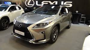 lexus crossover inside 2017 lexus rx 450h f sport exterior and interior essen motor