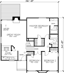 modern 1 story house plans sensational design modern 1 story house floor plans 2 on decor