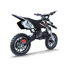 black motocross bike crx race 50cc mini dirt bike in black silver xtreme toys