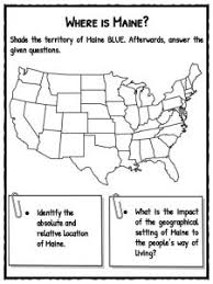 the state of maine facts worksheets u0026 historical information for kids