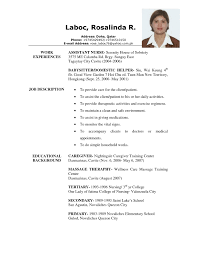 Professional Resume Sample Examples Of Resumes Call Center Resume Sample Job Regarding