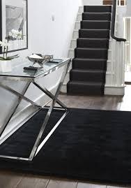 Dark Rug Black Carpet Stair Treads