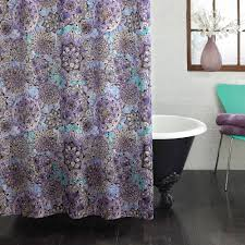 Kids Fabric Shower Curtain - excell ode to geode fabric shower curtain walmart com