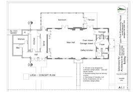 lyon park community center floor plan arlnow com