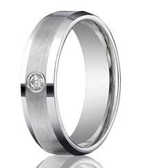 mens wedding rings white gold mens diamond bands single cut diamond