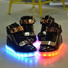 womens size 12 casual boots plus size 10 11 12 13 led shoes couples glowing flats